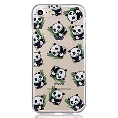 Voor apple iphone 7 plus 7 panda patroon geval achterkant behuizing zachte tpu voor iphone 6s plus 6 plus 6s 6 5 5s se