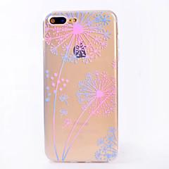 iphone 7 7 plus tapauksessa kattamaan läpinäkyvä kuvio takakansi tapauksessa voikukka pehmeä TPU iPhone 6s 6 plus 6s 6 se 5s 5