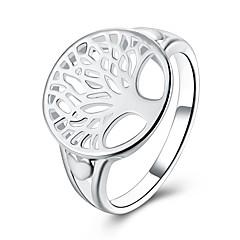 Női Gyűrű ÉkszerekAlap Karika Egyedi Tetoválás Természet Geometriai Barátság Hipoallergén Dupla Pearl aranyos stílus Euramerican Török