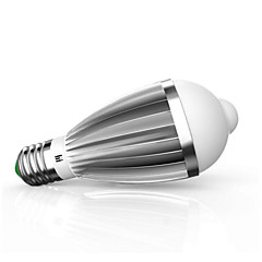 9W E26/E27 LED Smart Bulbs G60 14 SMD 5630 650 lm Warm White Cool White Infrared Sensor Sensor Decorative AC85-265 V 1 pcs