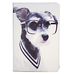 For Apple iPad Mini1 2 3/4 Case Cover with Stand Flip Pattern Full Body Case Dog Hard PU Leather
