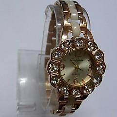 Damskie Ladies ' Modny Zegarek na bransoletce Chiński Kwarcowy Stop Pasmo Błyszczące Na co dzień Biały Różowe złoto