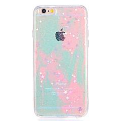 Til Apple iPhone7 7plus Case Cover Mønster Bag Cover Cover Farvegradient Glitter Shine Soft TPU 6s plus 6 plus 6s 6