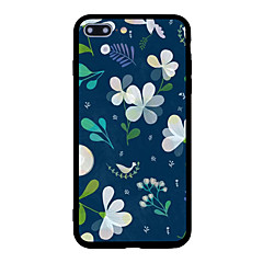 For iPhone 7 Plus 7 Case Cover Pattern Back Cover Case Cartoon Flower Hard Acrylic for iPhone 6s Plus 6 Plus 6s 6 5s 5 SE