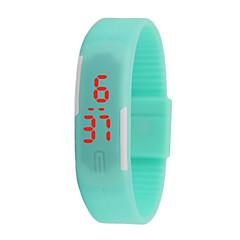 hhy nieuwe led horloges mannen en vrouwen kijkt kleur rubber creatieve digitale horloges slimme horloges