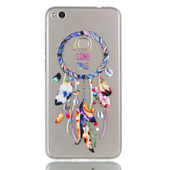 Dla huawei p8 lite (2017) pudełko na telefon p9 lcp tpu materiał wiatr kuranty wzór obudowa telefonu ulga p8 lite