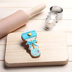 1 ψήσιμο Mold κοιμάται το μωρό για κέικ για Σοκολάτα για Ψωμί για Cookie για Σάντουιτς Ανοξείδωτο ατσάλιDIY 3D Υψηλή ποιότητα Φιλικό στο