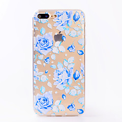 For iPhone 7 7 Plus Case Cover Transparent Pattern Back Cover Case Flower Soft TPU for iPhone 6s 6 Plus 6s 6 SE 5S 5