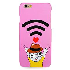 Voor apple iphone 7 7plus case cover patroon achterkant case cartoon hart harde pc 6s plus 6 plus 6s 6 5s 5