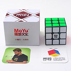 Rubiks kubus Weilong Soepele snelheid kubus Gladde Sticker instelbare veer Verlicht stress DHZ-kit Magische kubussen 3D-puzzels Educatief