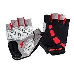 Sports Gloves Unisex Cycling Gloves Summer Fall/Autumn Bike Gloves Cycling Wearable Breathable Fingerless GlovesSilica Gel Microfiber