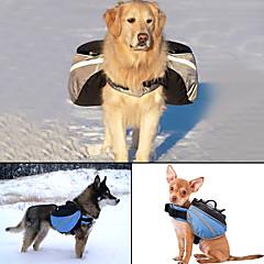 Pies pakiet dla psów Zwierzęta domowe Torby Korygujący/Wysuwany Odblaskowy Przenośny Jendolity kolor Gray Niebieski