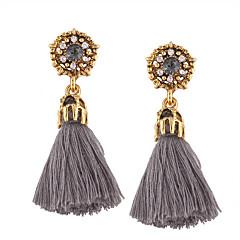 Kadın's Damla Küpeler Mücevher Moda Bohemia Stili Kişiselleştirilmiş Euramerican kostüm takısı alaşım Mücevher Uyumluluk Düğün