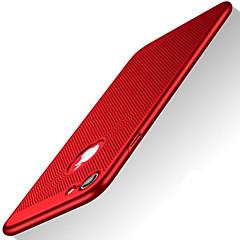 Kompatibilitás iPhone X iPhone 8 tokok Ultra-vékeny Hátlap Case Tömör szín Kemény Műanyag mert Apple iPhone X iPhone 8 Plus iPhone 8