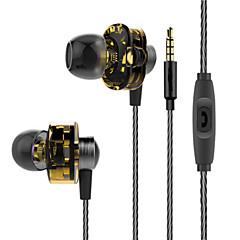 kettős hatású kör fül fülhallgató mélynyomó hifivivo mágikus hang fül dugó