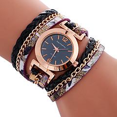 Mulheres Relógio Esportivo Relógio de Moda Bracele Relógio Único Criativo relógio Relógio Casual Quartzo Couro BandaPendente Legal Casual