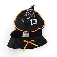 Cat Dog Costume Dog Clothes Halloween Solid Black