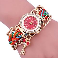 Dames Armbandhorloge Digitaal Metaal Band Zwart Wit Blauw Rood Groen Roze