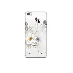 Voor xiaomi mi 5 case cover patroon back cover case landschap bloem zachte tpu