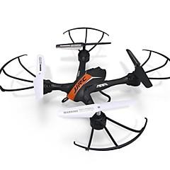 드론 JJRC H33 Orange 4CH 6 축 LED조명 리턴용 1 키 360동 플립 비행 호버 RC항공기 리모컨 드론용 배터리1개 블레이드4개 사용자 메뉴얼