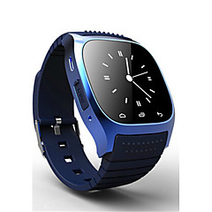 Homens Relógio de Moda Digital Impermeável Borracha Banda Preta Branco Azul