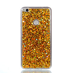 Taske til huawei p8 lite (2017) p10 lite mobil taske akryl misfarvet flash pulver telefon taske p9 lite p8 lite ære 8 / ære 7
