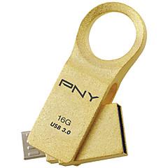Pny ou6 16g otg micro usb usb 3,0 roterende flashdrev u disk til android mobiltelefon tablet