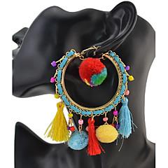 Damskie Kolczyki wisząceKlasyczny Unikalny Geometryczny Przyjaźń Gotyckie Film Biżuteria luksusowa biżuteria Trwały Wyrazista biżuteria