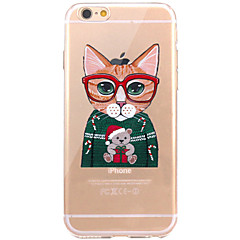 Case For IPhone 7 6 Cat TPU Soft Ultra-thin Back Cover Case Cover iPhone 7 PLUS 6 6s Plus SE 5s 5 5C 4S 4