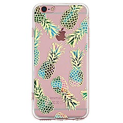 Case For IPhone 7 6 Fruit TPU Soft Ultra-thin Back Cover Case Cover iPhone 7 PLUS 6 6s Plus SE 5s 5 5C 4S 4