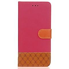 Obudowa dla xiaomi redmi 4 4x pokrowiec obudowa portmonetka portfel z podstawą flip wytłoczony pełny pokrowiec obudowa stały kolor twardy