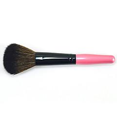 1pc Cepillo para Colorete Pincel de Nylon Libre de Olores Antifricción Haya Cara