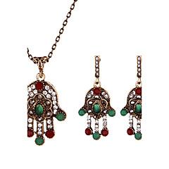 여성용 드랍 귀걸이 목걸이 기하학적 레진 Geometric Shape 제품 크리스마스 선물 비키니 결혼 선물