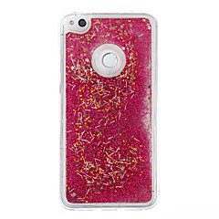 Huawei P9 lite P8 lite esetben fedelet flash por futóhomok TPU anyag telefon esetében P8 lite (2017)