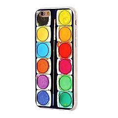 Kompatibilitás iPhone X iPhone 8 tokok Ultra-vékeny Minta Hátlap Case Mértani formák Puha Hőre lágyuló poliuretán mert Apple iPhone X