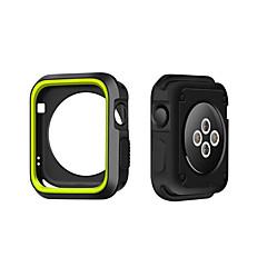 Voor Apple Watch Case 38 / 42mm Krasbestendig Flexible Case Slanke Lichtgewicht Beschermende Bumper Cover voor Apple Watch Series 1/2