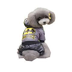 Σκύλος Φόρμες Ρούχα για σκύλους Πρωτοχρονιά Κεντητό Καφέ Μπλε