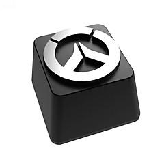 Aluminiumlegering keycap set voor mechanische toetsenbord top gedrukt