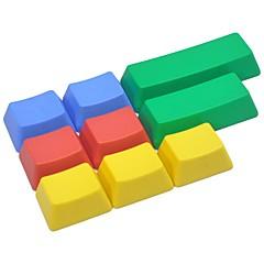 9 toetsen pbt kleurrijke keycap set voor mechanische toetsenbord niet gedrukt
