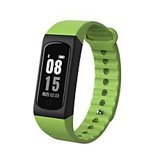 yy w4s inteligentne bransoletki wodoodporne / kalorie spalone pedometry ćwiczenia rekordowe sportowe monitorowanie tętna dotykowe dla