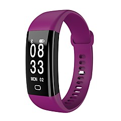 Smart armbånd Vandafvisende Lang Standby Brændte kalorier Skridttællere Træningslog Pulsmåler Touch Screen Distance Måling Multifunktion