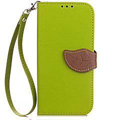 Hoesje voor xiaomi redmi 4a 4x hoesje hoesje kaarthouder portemonnee met tribune flip hoesje hoesje solide kleur hard pu leer voor redmi 2