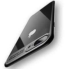 Case voor iphone 7 plus 7 volledige beschermende siliconen acryl transparante achterkant 6 plus 6