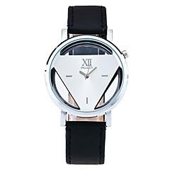 Heren Dress horloge Skeleton horloge Modieus horloge Polshorloge Unieke creatieve horloge Vrijetijdshorloge Chinees Kwarts PU Band