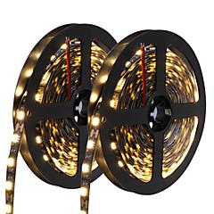 72W LED-es szalagfények 6950-7150 lm DC12 V 10 m 300 led Meleg fehér Fehér Kék