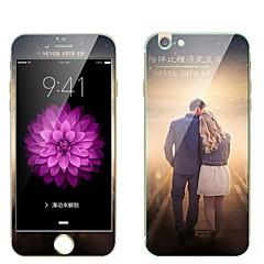 Gehard Glas Screenprotector voor Apple iPhone 7 Plus Voorkant- & achterkantbescherming Volledige behuizing screenprotector Patroon