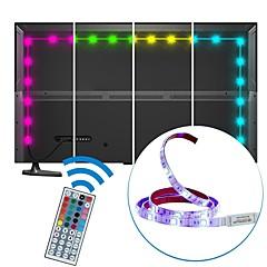 2m usb led-nauhat valo vedenpitävä smd5050 rgb led-nauha joustava led-valot 44keys kaukosäädin tv-taustavalo dc5v
