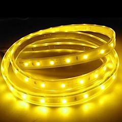 3m 220v higt fényes LED szalag rugalmas 5050 180smd három kristály vízálló fény bár kerti lámpák EU hálózati csatlakozó