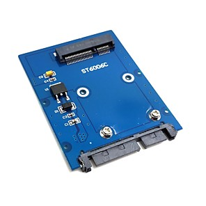 "λεπÏ""Î¿Ï Ï""Ïπου mini PCI-E mSATA SSD 2,5 ""SATA HDD 3,0 Ï€ÏοσαÏμογέα 22pin PCBA σκληÏÏŒ δίσκο"