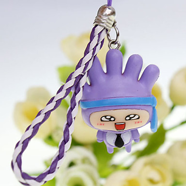 Doll Style Pendant (Assorted Colors)